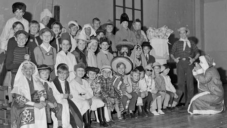 The YMCA Cub Pack in costume and enjoying their annual Christmas party. Picture: WESTON MERCURY