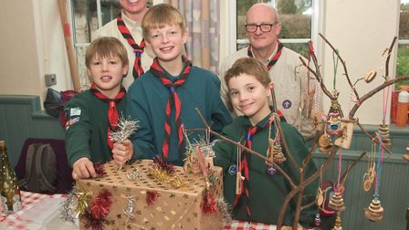 Winscombe Scout Christmas fair. Picture: MARK ATHERTON
