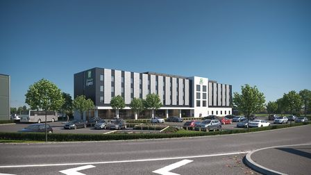 An artist's impression of the hotel. Picture: Holiday Inn
