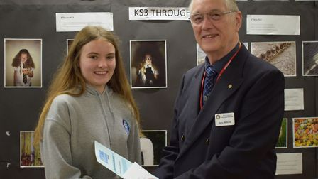 Laura won the young photographer of the year contest.