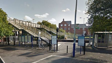 The incident occured at Highbridge Railway Station. Picture: Google