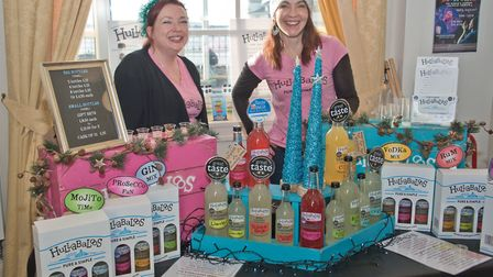 Hullabaloos lemonades at eat:Christmas festival. Picture: MARK ATHERTON