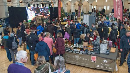 eat:Christmas festival. Picture: MARK ATHERTON