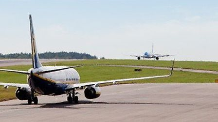 Bristol Airport wants to cater for 20 million passengers in future. Picture: BBC LDRS