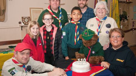 The 1st Ashcombe Scout Group has celebrated its 110th anniversary.Picture: MARK ATHERTON
