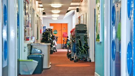 Baytree School at Locking Campus. Picture: MARK ATHERTON