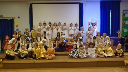 St. Nicholas' Chantry in Clevedon had their nativity play
