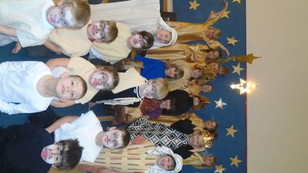 Year two at Yatton Infant School had their annual nativity play
