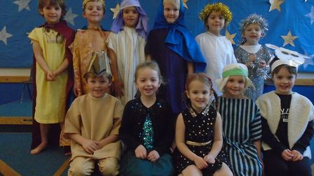 The year one class at Yatton Infant School had their annual nativity play