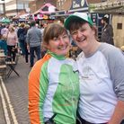 Organisers Bev and Sarah Milner Simonds at the Eat:Nailsea Festival. Picture: MARK ATHERTON