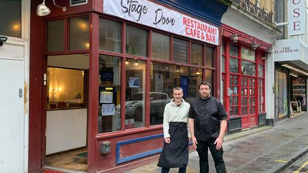 The Stage Door opened on Friday in Weston High Street.Picture: Lily Newton-Browne