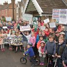 Campaigners calling for a new skatepark in Portishead.