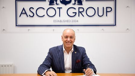 Ascot Group founder and chief executive Andrew Scott.