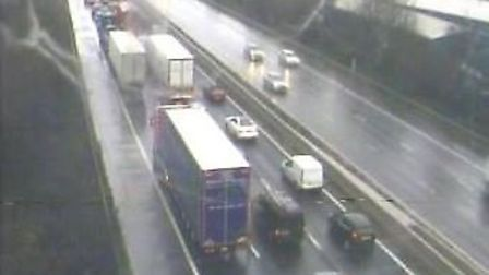 Long delays are affecting the M5 today (Thursday).Picture: Highways England