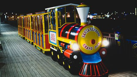 Santa Express launches at Weston's Grand Pier on Sunday.Picture: The Grand Pier