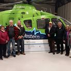 AMARC members at GWAAC's base near Bristol. Picture: AMARC