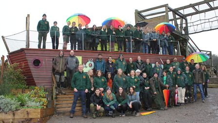 Staff at Noahs Ark Zoo Farm enjoyed a record-breaking year. Picture: Noahs Ark Zoo Farm