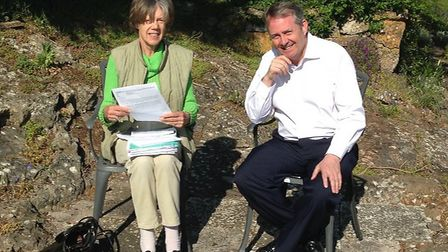 Ione Douglas has been awarded an MBE.Picture: Dr Liam Fox MP