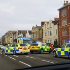 A person has suffered serious injuries after a collision with a car this morning (Wednesday).Picture