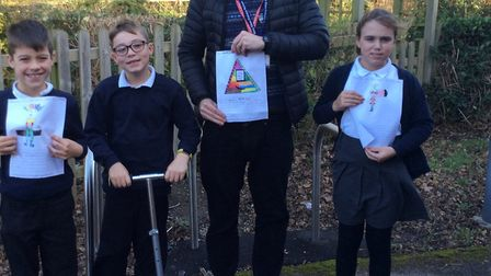 Jackson won the scooter during Road Safety Week