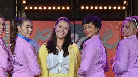 Clevedon School students performed Grease