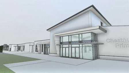 Designs of Chestnut Park Primary School have been published by Willmott Dixon. Picture: SHANE DEAN