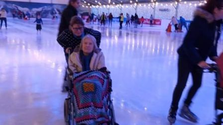 Residents enjoyed their time at Icescape. Picture: Marie McMillan