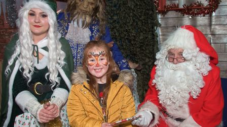 Festive fun at Weston Helicopter Museum. Picture: MARK ATHERTON