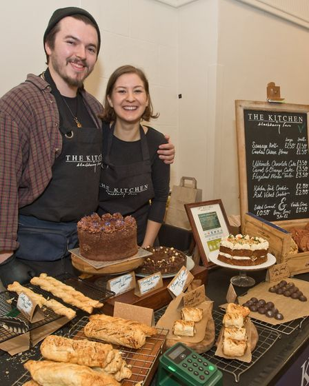 Dan and Kate from the Kitchen at Blackberry Farm at Weston - Eat Vegan. Picture: MARK ATHERTON