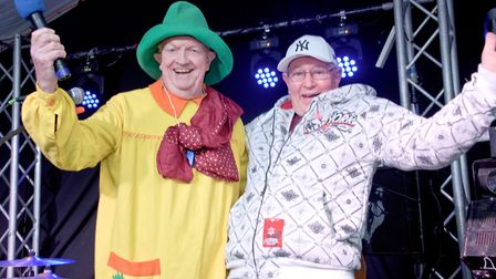 Master of ceremonies was Bob Nicholson pictured with DJ Bob. Picture: MARK ATHERTON