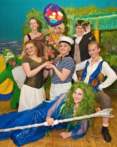 Hutton Drama Club's panto Robinson Crusoe. Picture: MARK ATHERTON