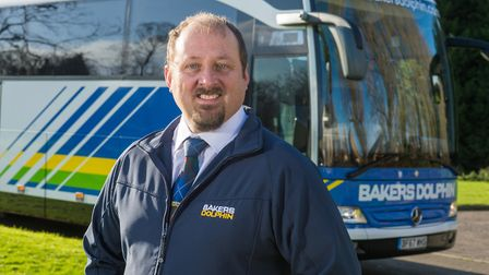 Bakers Dolphin driver Michael Blowers was named national Coach Tour Driver of the Year in 2018.Pictu
