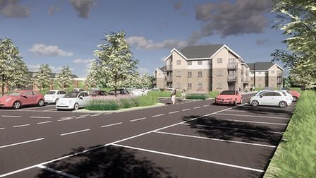 An artist impression of McCarthy and Stone's development in Clevedon. Picture: McCarthy and Stone