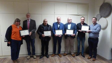 The winners of Weston Civic Society's awards for architectural excellence.