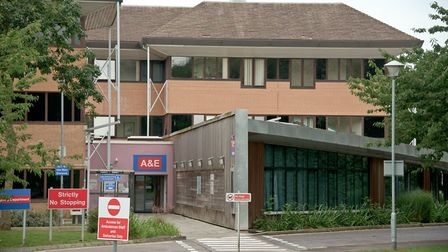 Weston General Hospital and A & E Department.