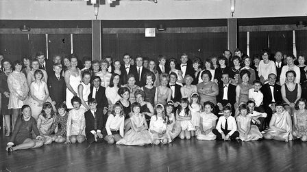 Members of the Daly-Hayden School of Dancing held their dance at the Royal Hotel. Picture: WESTO