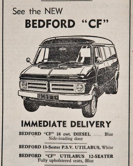 Ads 23th January 1970 Edition. Picture: WESTON MERCURY