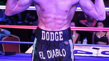 Dean Dodge's fight against Sean Davis will be his 10th, as he looks to mantain his unbeaten record.