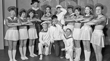 A nautical number from Mendip Vale Players pantomime Dick Whittington. Picture: WESTON MERCURY