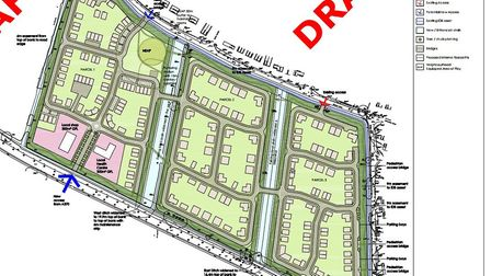 The proposed development off Bleadon Road. Picture: Sutherland Property and Legal Services