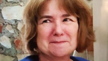 Karen, aged 57, was last seen yesterday
