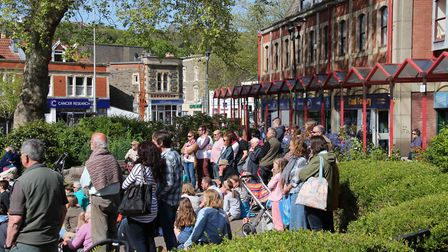 The BID aims to make Queens Square a 'heart' of Clevedon.