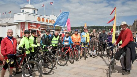 The Brean Down cycle way has been popular since it opened in 2017.
