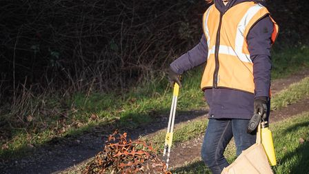Turn The Tide Portishead held its monthly litter pick at the marina and rhyne on Saturday.