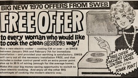 Ads 06th February1970 Edition. Picture: WESTON MERCURY