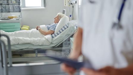 An increasing number of dementia patients are being admitted to hospital emergency wards.