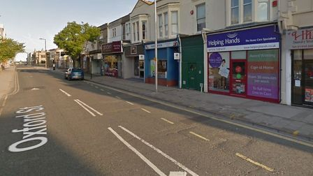 A man was assaulted in Weston-super-Mare in the early hours of Sunday morning. Picture: Google St
