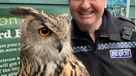 PC Pete Wills completes first month as Wildlife Crime Officer