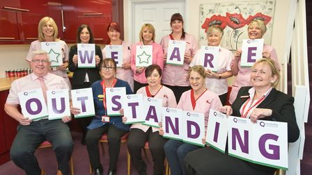 Staff at Poppy's homecare, have been awarded an 'Outstanding' CQC care rating. Picture: MARK ATHE