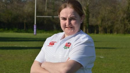 Catherine John has been selected for England's tour to South Africa. Picture: Grace John